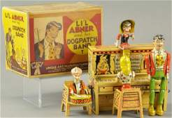BOXED LIL ABNER DOGPATCH BAND