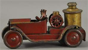 EARLY FRICTION FIRE PUMPER TRUCK