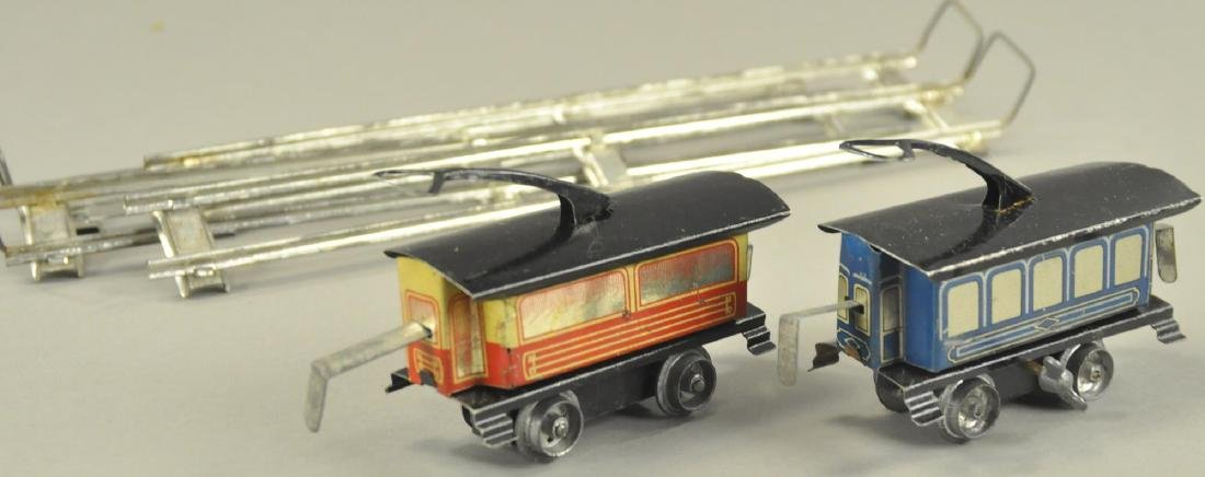 KARL BUB CLOCKWORK TRAM CARS