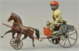 GEORGE BROWN BLACK BOY IN CART