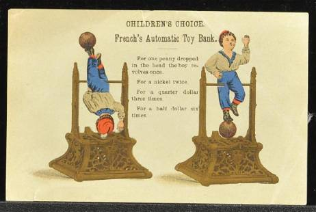 FRENCHS AUTOMATIC TRADE CARD