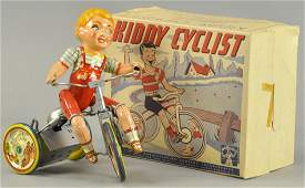BOXED UNIQUE ART KIDDY CYCLIST