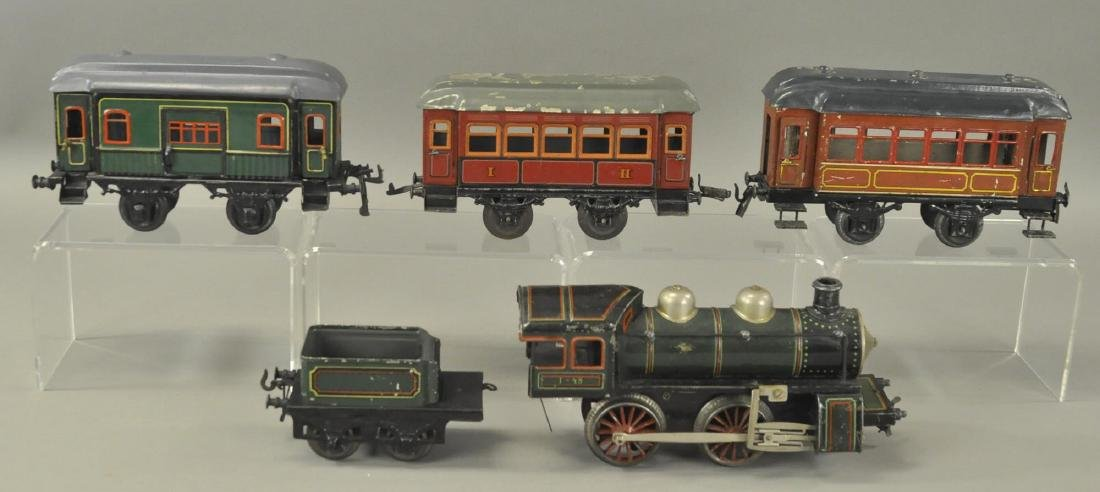 KARL BUB LOCOMOTIVE AND BING PASSENGER CARS