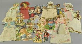GROUPING OF GERMAN HOLIDAY DIECUTS