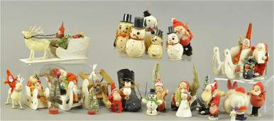 LARGE GROUPING OF CHRISTMAS ITEMS