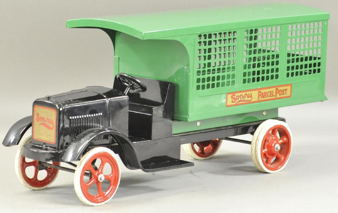 SUN-NY PARCEL POST TRUCK - SPOKE WHEELS