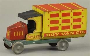UPTON MACHINE CO BOY VAN TRUCK