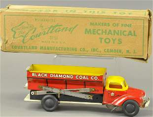 BOXED COURTLAND DIAMOND COAL TRUCK
