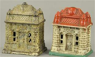PAIR OF FOUR TOWER STILL BANKS