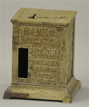 BANK OF EDUCATION STILL BANK