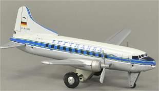 LUFTHANSA CONVAIR 440 AIRPLANE FRICTION