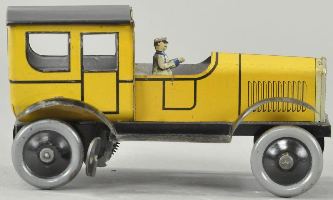 JEP SALOON CHAUFFEURS CAR