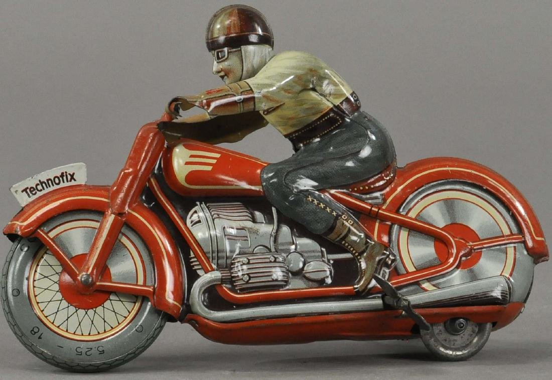 TECHNOFIX #4 RACER MOTORCYCLE