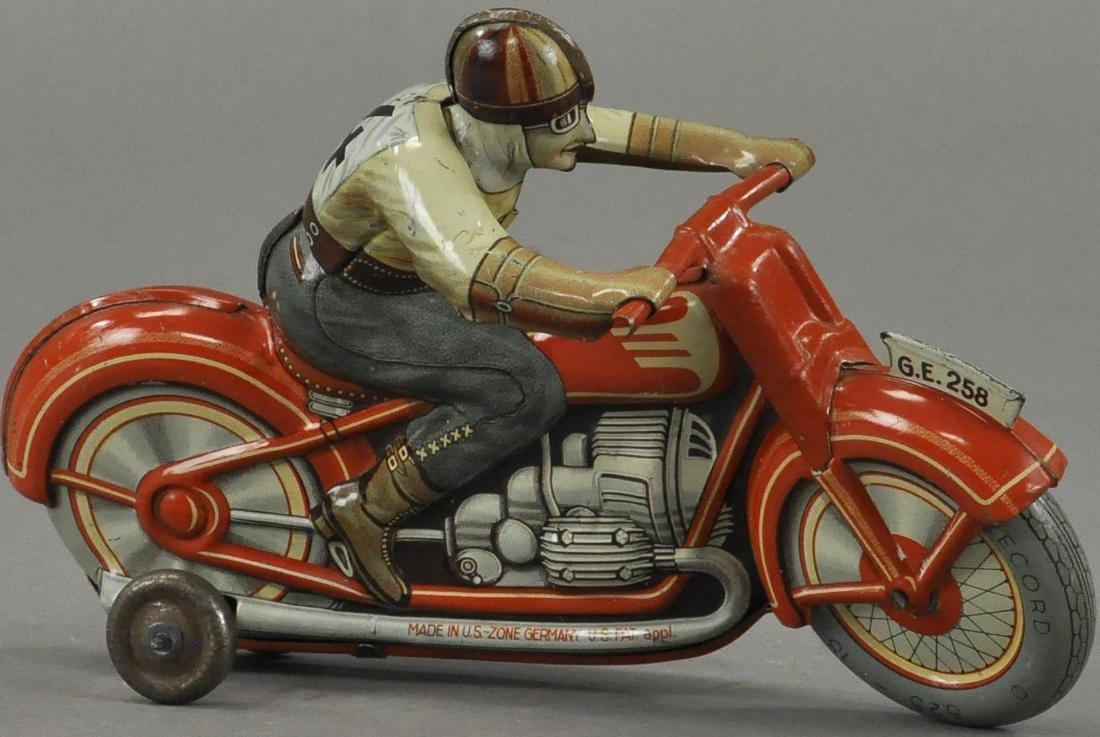 TECHNOFIX #4 RACER MOTORCYCLE - 3
