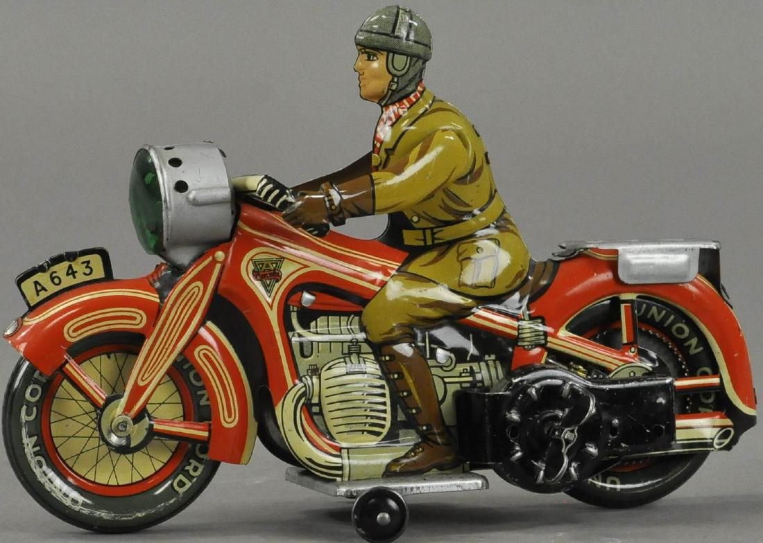 ARNOLD ARMY MOTORCYCLE