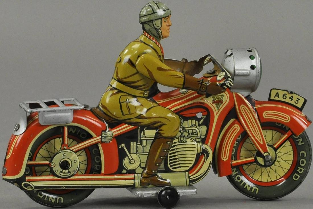 ARNOLD ARMY MOTORCYCLE - 2