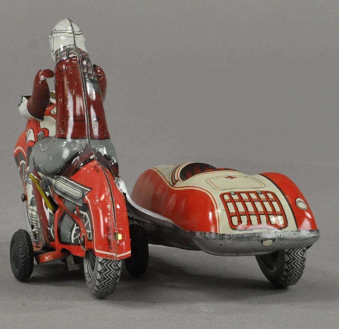 HUKI #21 CYCLE W/ SIDECAR - 3