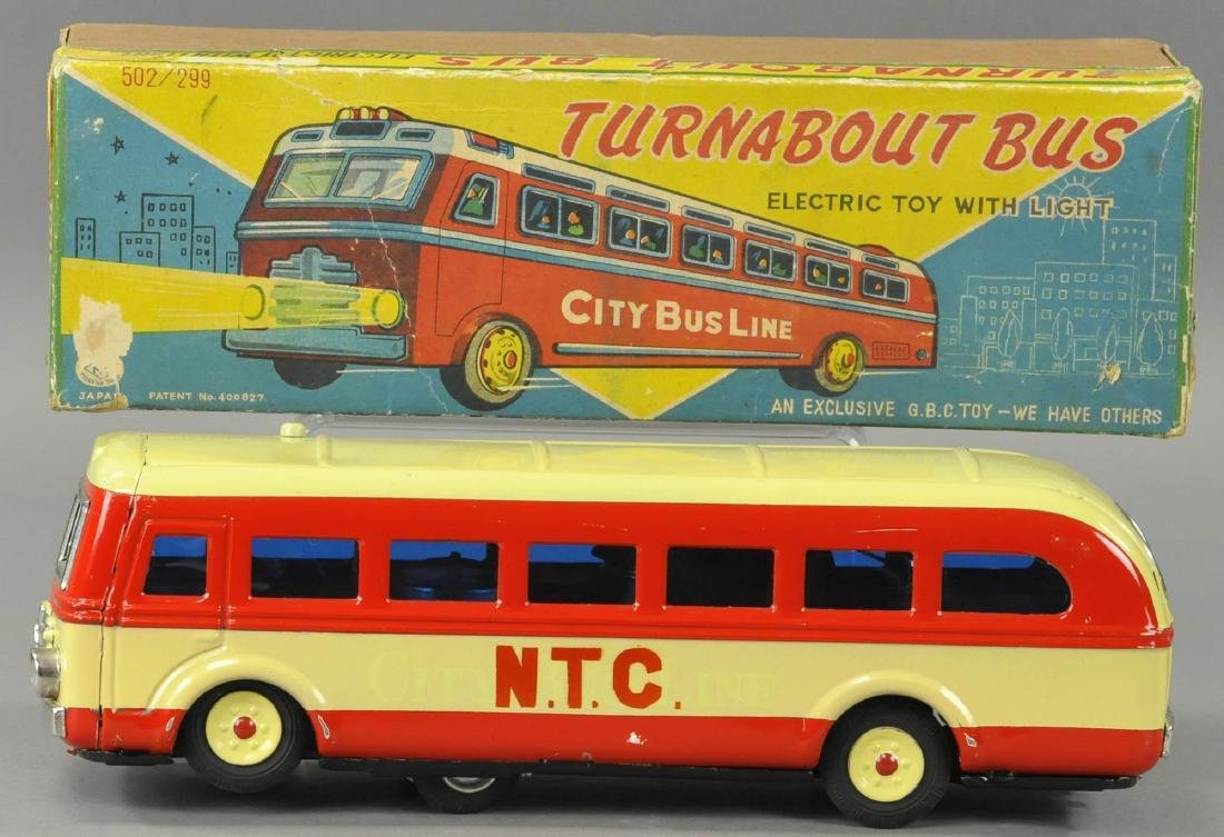 BOXED TURNABOUT NTC BUS - TM JAPAN