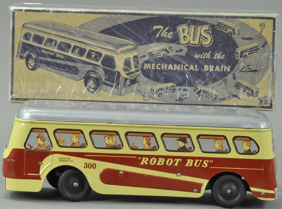 BOXED ROBOT BUS - BROOKLYN NY