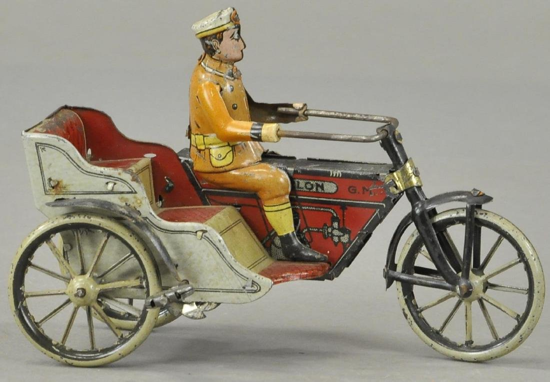 G & K CYCLE WITH SIDECAR