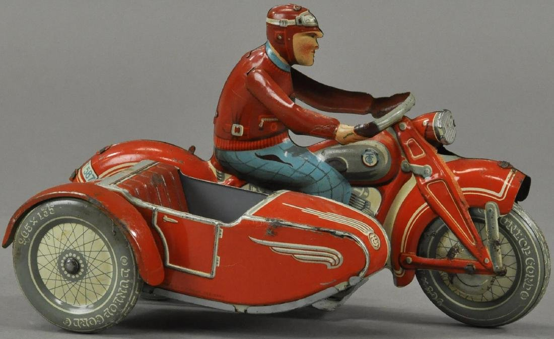 TIPPCO MOTORCYCLE WITH SIDECAR