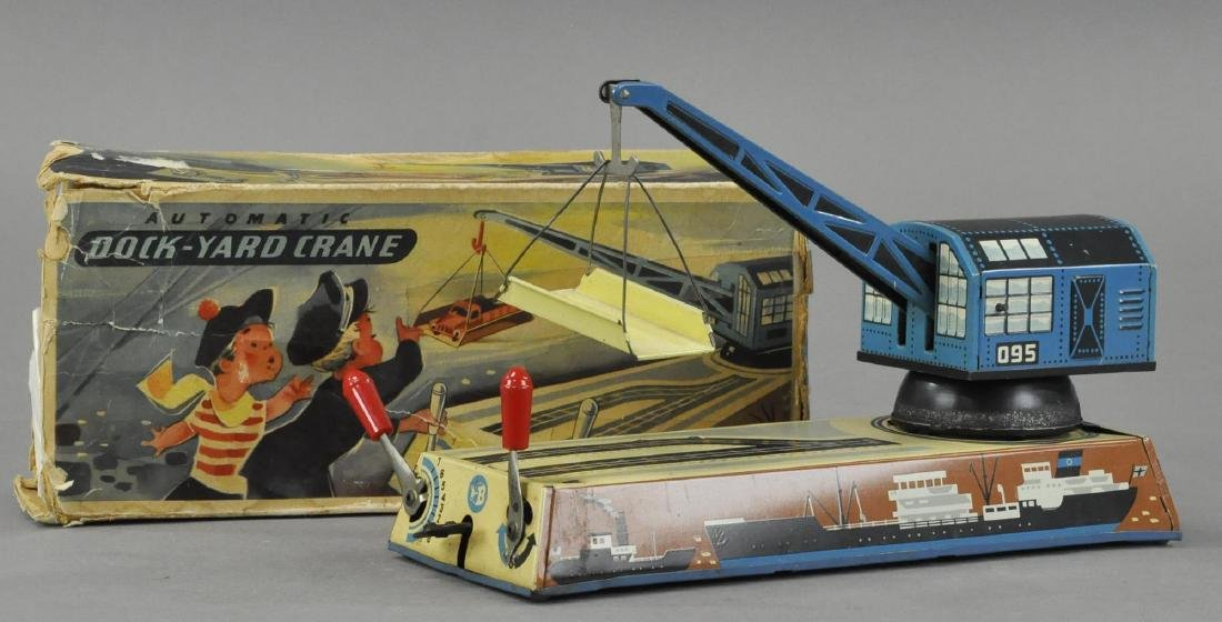 BOXED DOCK YARD CRANE - BILLER GERMANY