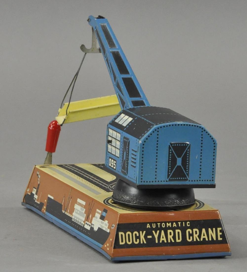 BOXED DOCK YARD CRANE - BILLER GERMANY - 2