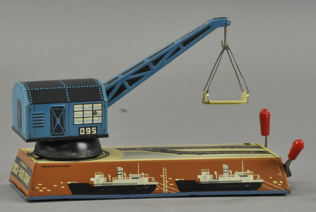 BOXED DOCK YARD CRANE - BILLER GERMANY - 3
