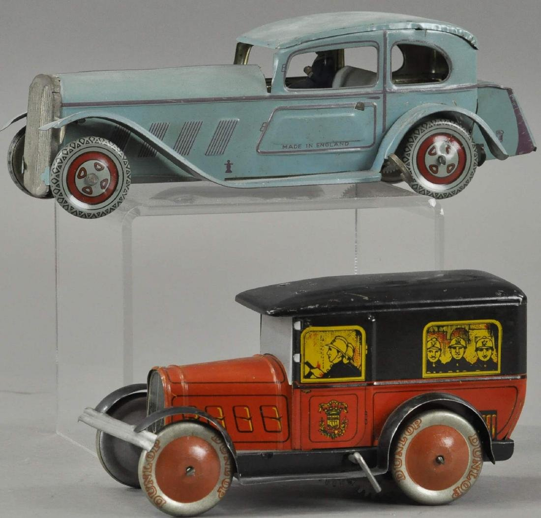 ENGLISH AND FRENCH TIN AUTOS