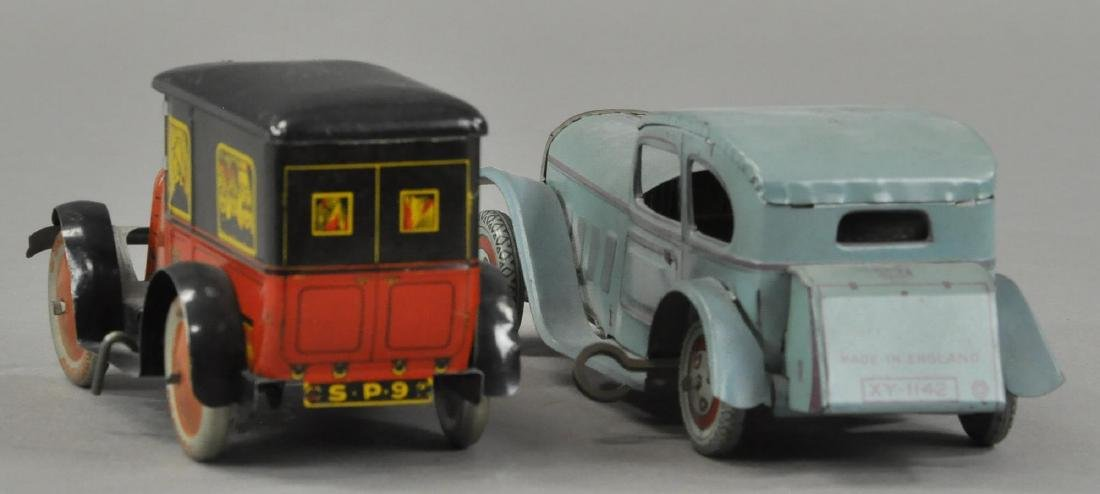 ENGLISH AND FRENCH TIN AUTOS - 2