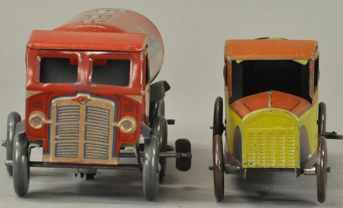 PAIR OF GASOLINE PETROL TANK TRUCKS - 2
