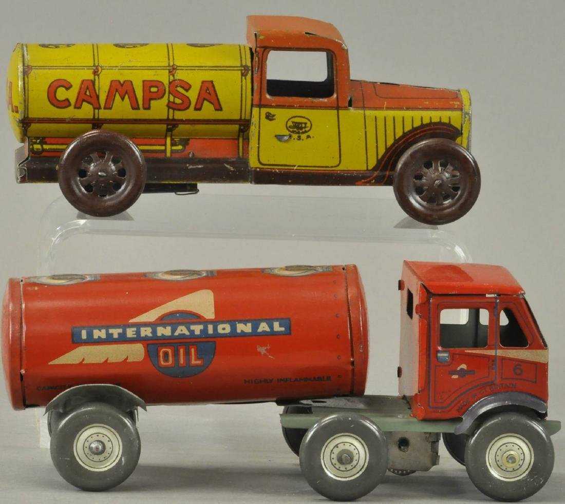 PAIR OF GASOLINE PETROL TANK TRUCKS - 3