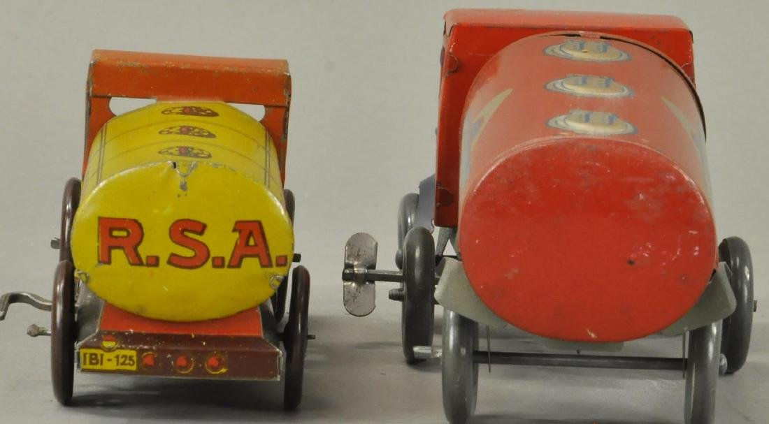 PAIR OF GASOLINE PETROL TANK TRUCKS - 4
