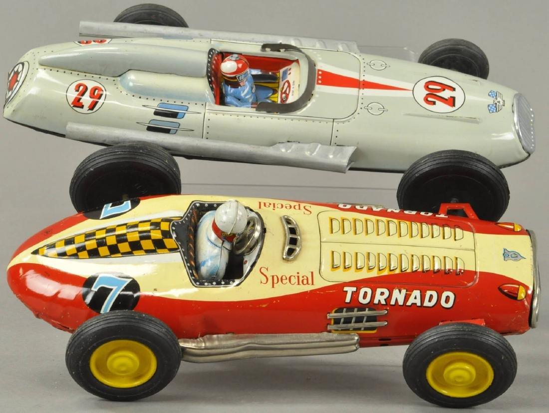 TWO JAPANESE FRICTION RACECARS - YONEZAWA
