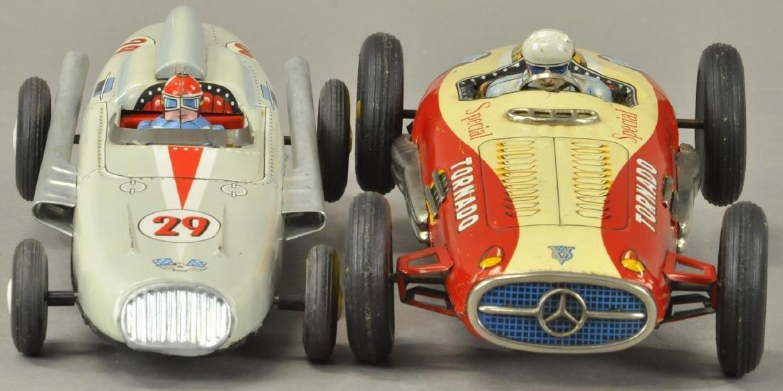 TWO JAPANESE FRICTION RACECARS - YONEZAWA - 3