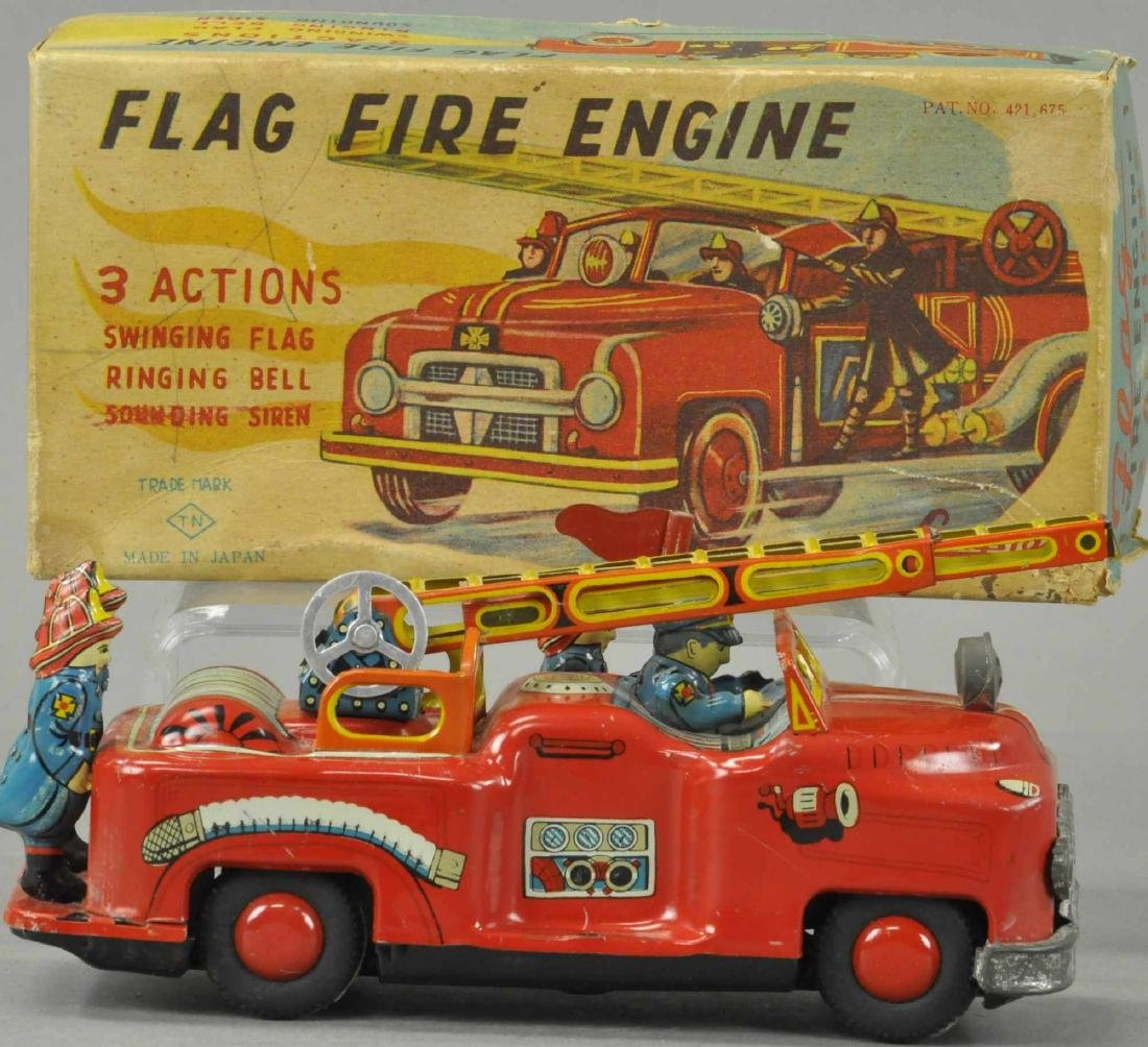 BOXED CRAGSTAN FLAG FIRE ENGINE