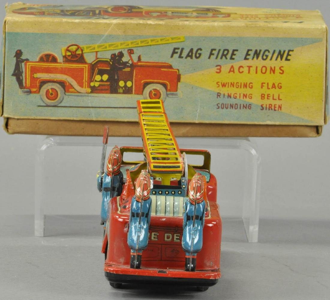 BOXED CRAGSTAN FLAG FIRE ENGINE - 2