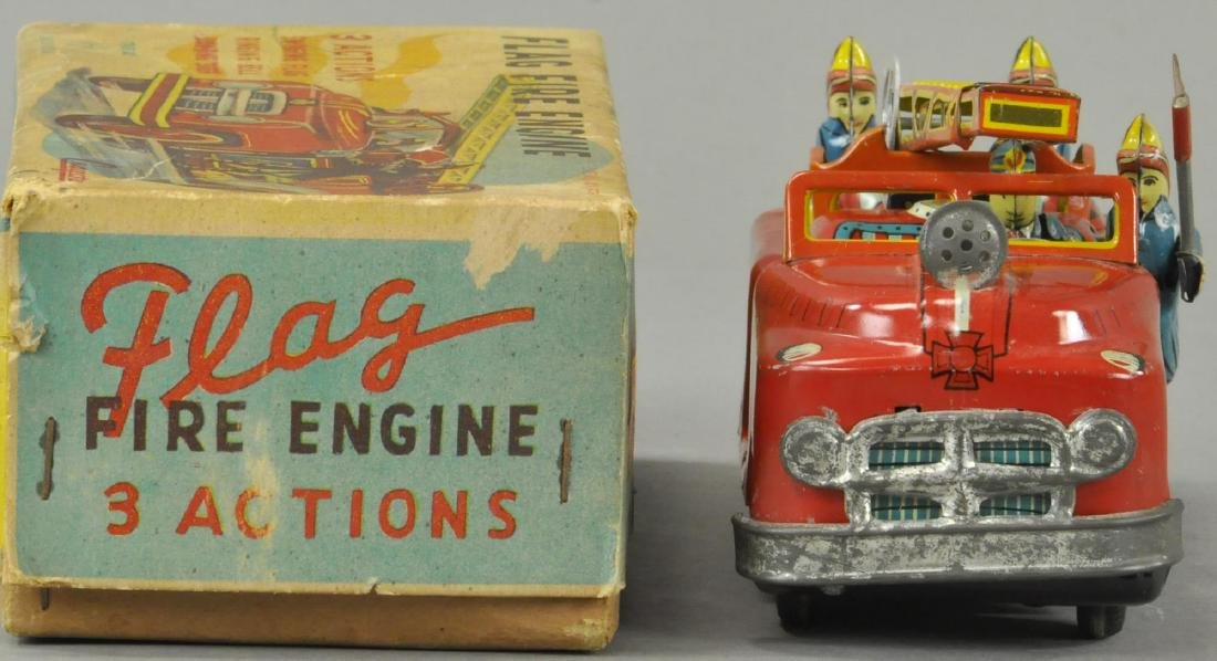 BOXED CRAGSTAN FLAG FIRE ENGINE - 4