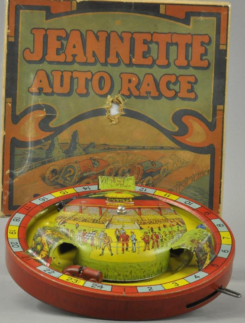 BOXED JEANETTE AUTO RACE GAME
