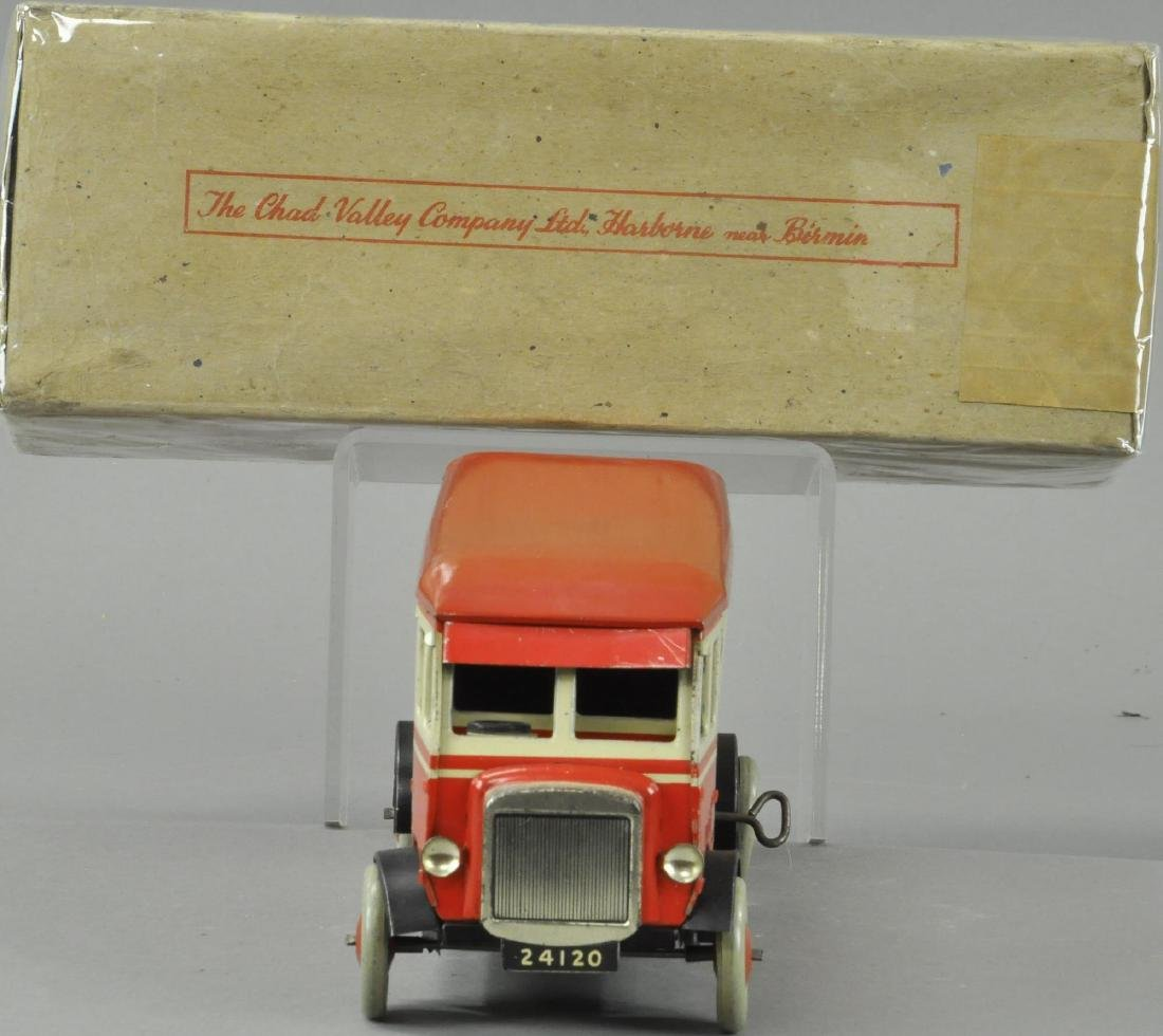 BOXED RED AND WHITE CHAD VALLLEY BUS - 2