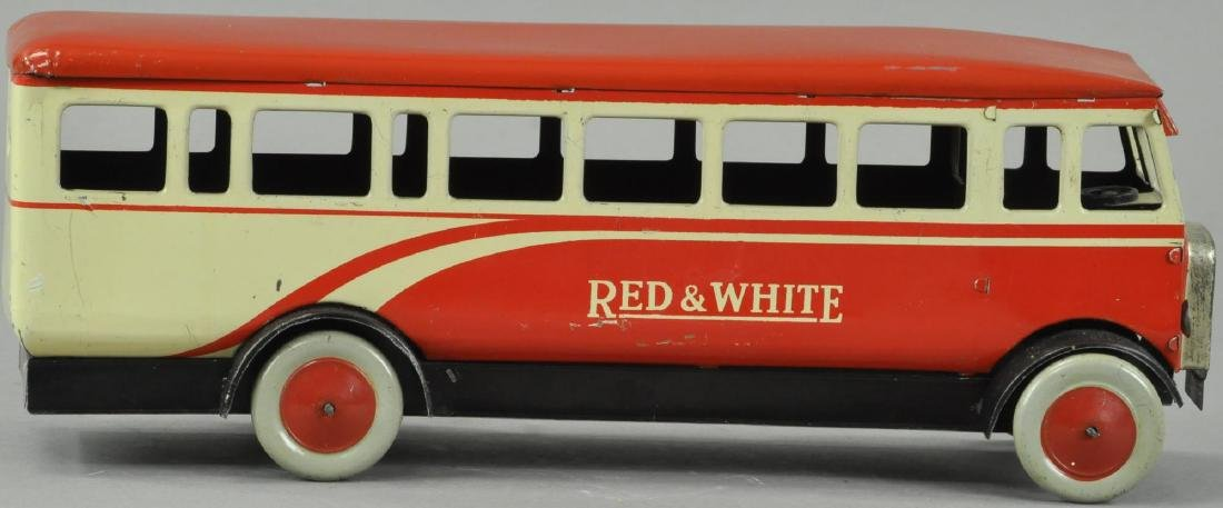 BOXED RED AND WHITE CHAD VALLLEY BUS - 4