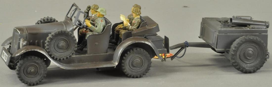 HAUSSER ARMY KITCHEN WAGON TRUCK
