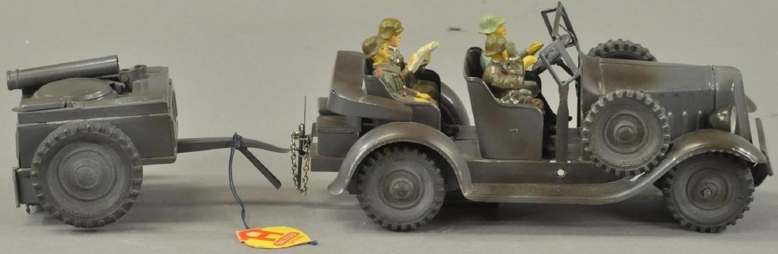 HAUSSER ARMY KITCHEN WAGON TRUCK - 3