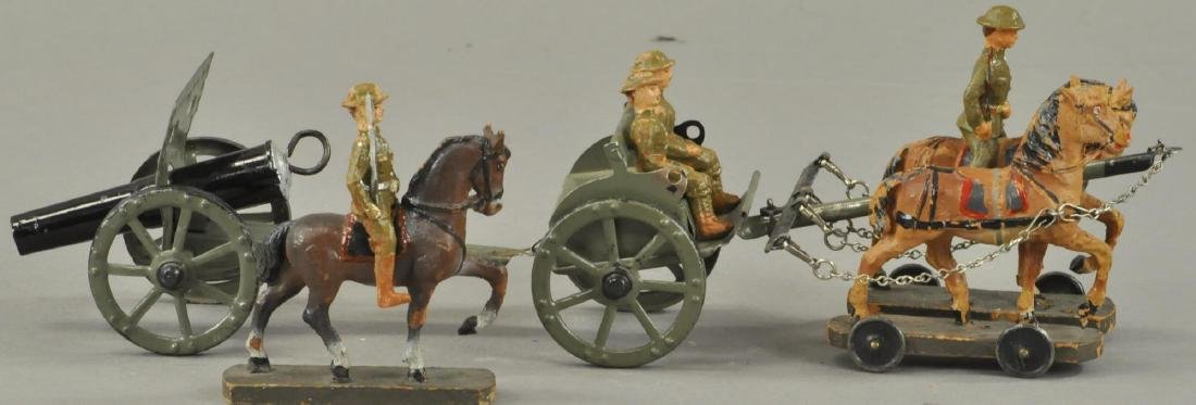 HAUSSER HORSE DRAWN CAISON CANNON