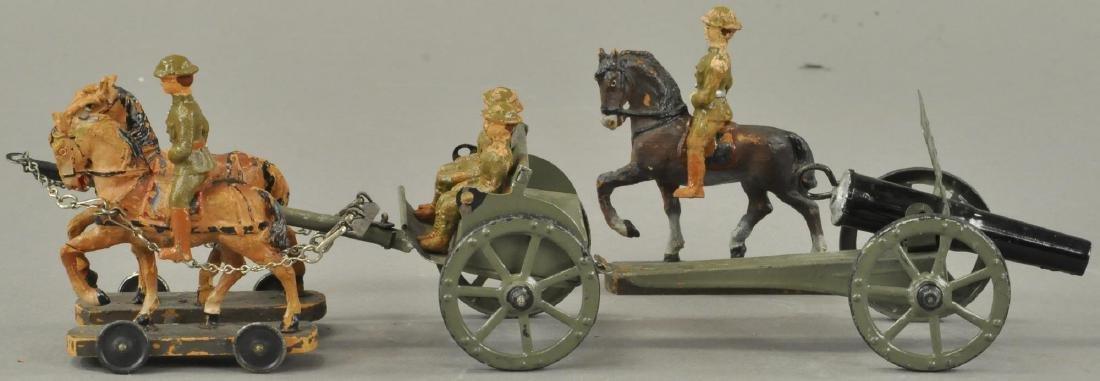 HAUSSER HORSE DRAWN CAISON CANNON - 3