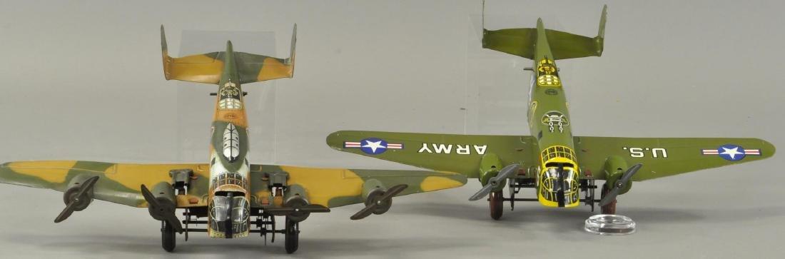 TWO MARX ARMY MILITARY AEROPLANES - 3