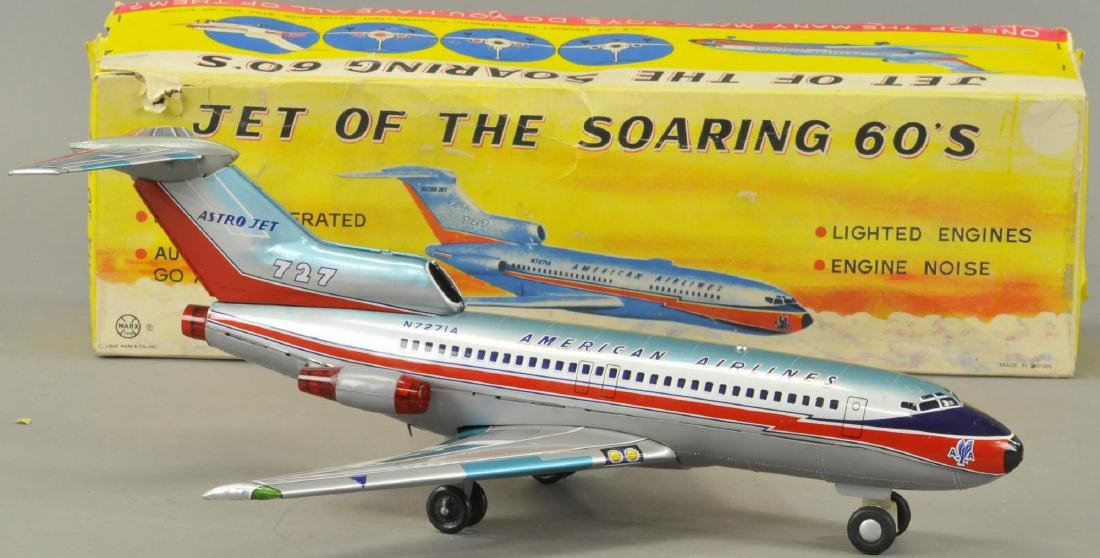 BOXED MARX SOARING 60S AIRPLANE