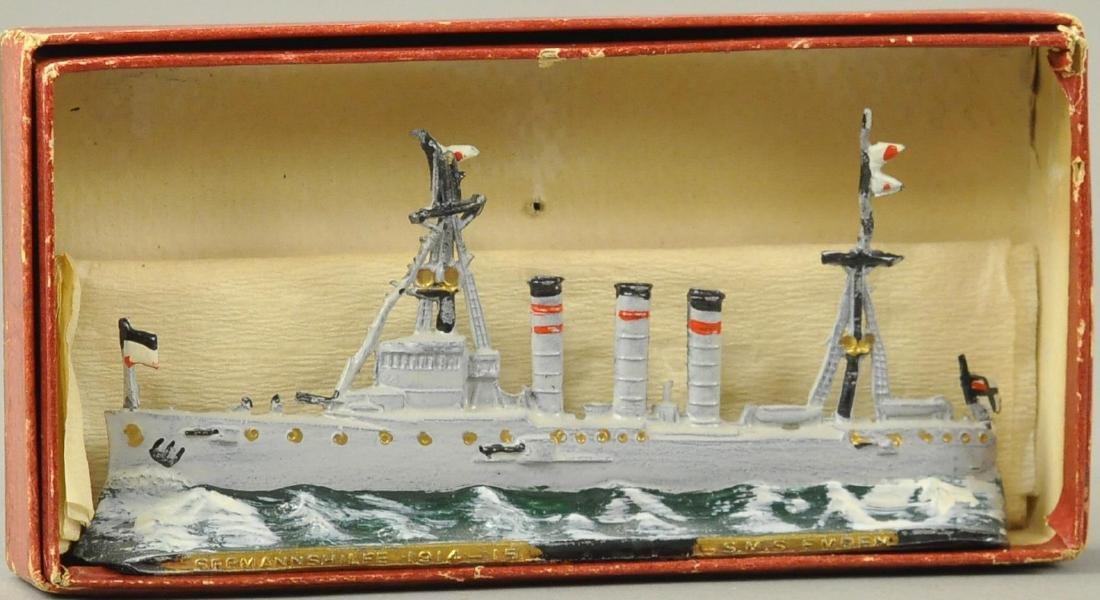L.S.M.S. EMDEN DIECAST SHIP MODEL