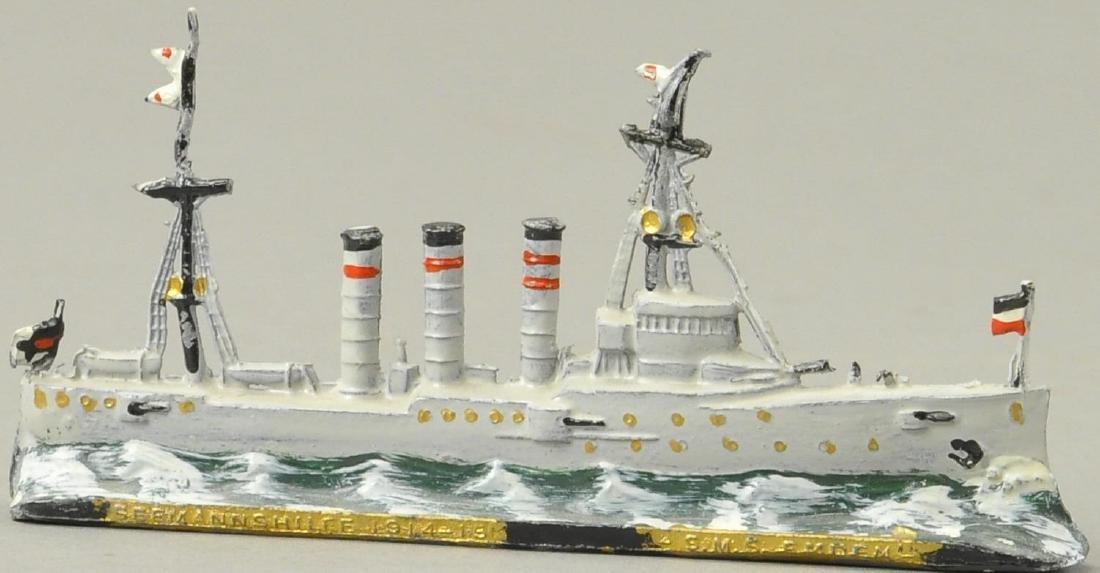 L.S.M.S. EMDEN DIECAST SHIP MODEL - 3