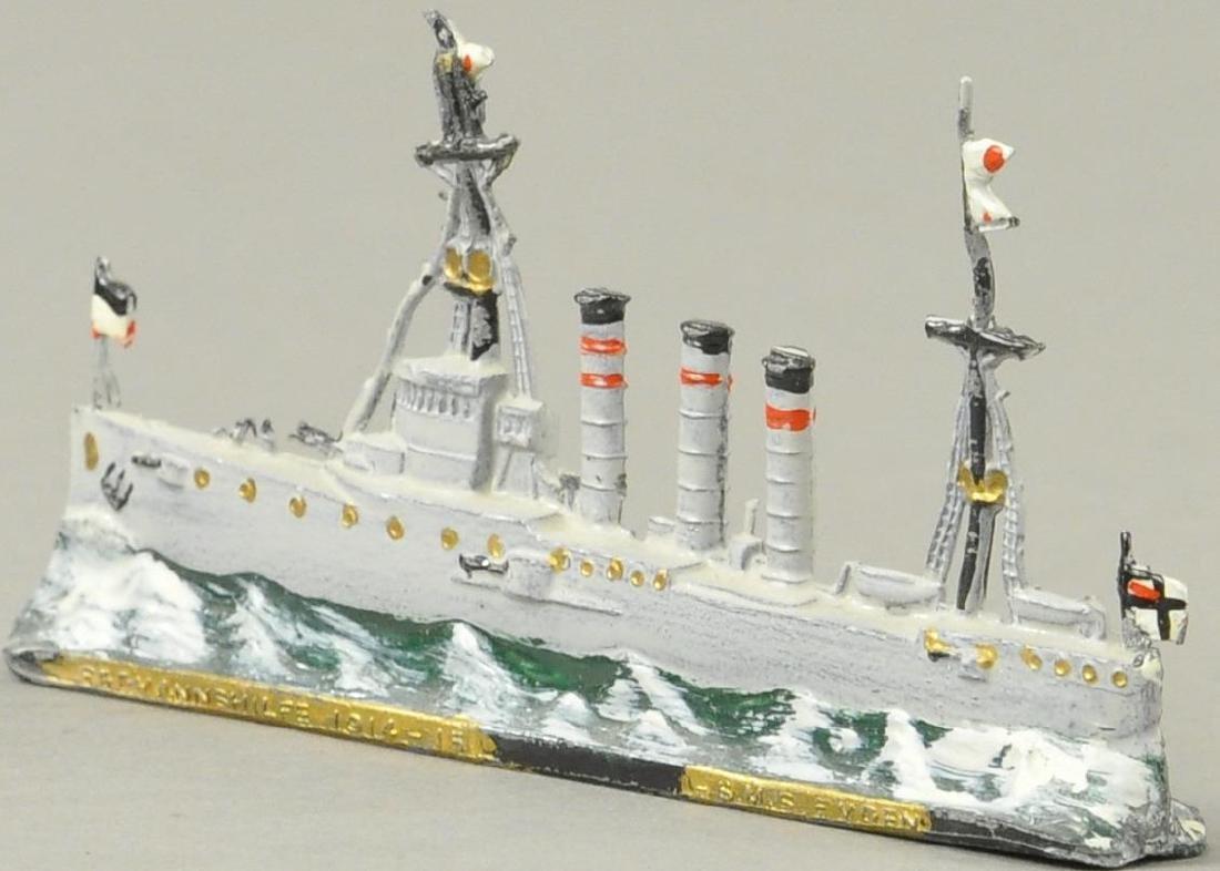L.S.M.S. EMDEN DIECAST SHIP MODEL - 4